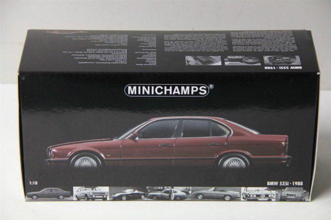 ۱-۱۸-MINICHAMPS-1988-BMW-535i-E34