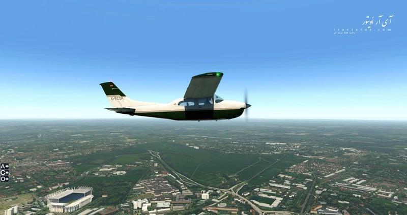 تویک شبیه ساز پرواز
